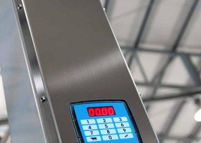 TDM – cabinet inox con tastiera lattometro