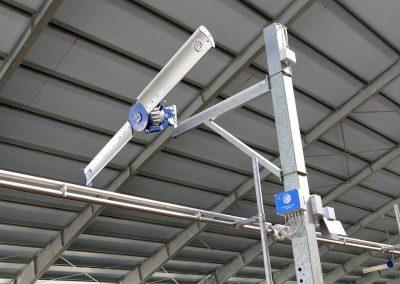 Sistema di controllo erogazione acqua a zone