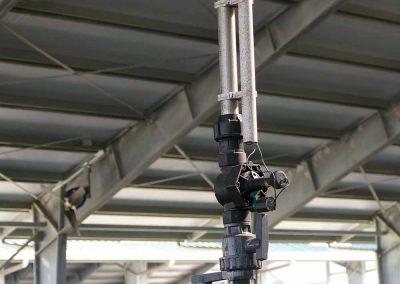 Sistema di gestione delle zone di erogazione acqua