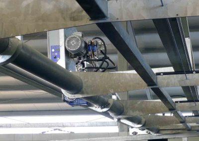 Avanzatore meccanico - dettaglio motore