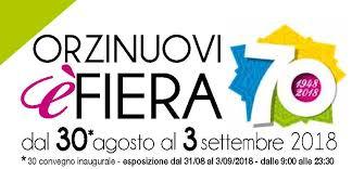 ORZINUOVI (BRESCIA) ITALY 31 AGOSTO – 3 SETTEMBRE 2018
