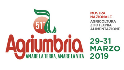 AGRIUMBRIA – BASTIA UMBRA (PG) ITALY 29-31 MARZO 2019