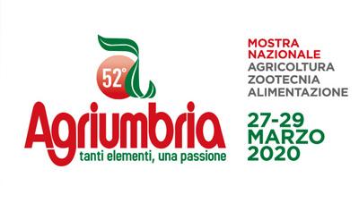 AGRIUMBRIA – BASTIA UMBRA (PG) ITALY 27-29 MARCH 2019