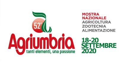 AGRIUMBRIA – BASTIA UMBRA (PG) ITALY 18-20 SEPTEMBER 2020